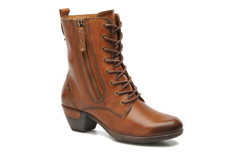 Stiefeletten & Boots Pikolinos ROTTERDAM 902-7936 braun detaillierte ansicht/modell