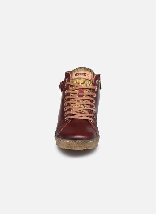 Baskets Pikolinos Lagos 901-7312 Bordeaux vue portées chaussures