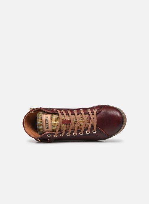 Baskets Pikolinos Lagos 901-7312 Bordeaux vue gauche