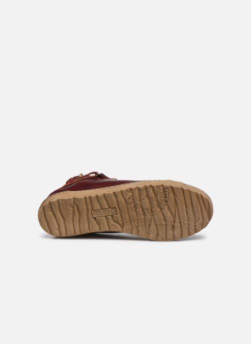 Baskets Pikolinos Lagos 901-7312 Bordeaux vue haut