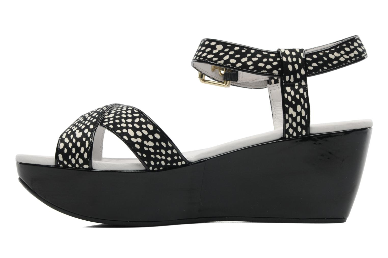 Sandals Elle Iena Black front view