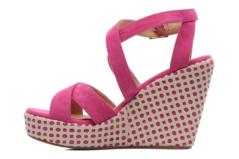 Sandalen Elle Passy Roze voorkant