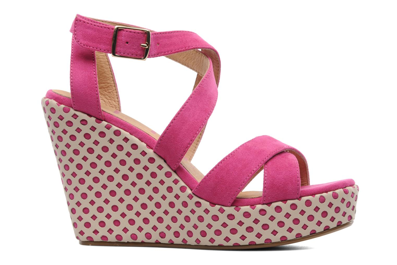 Sandalen Elle Passy Roze achterkant