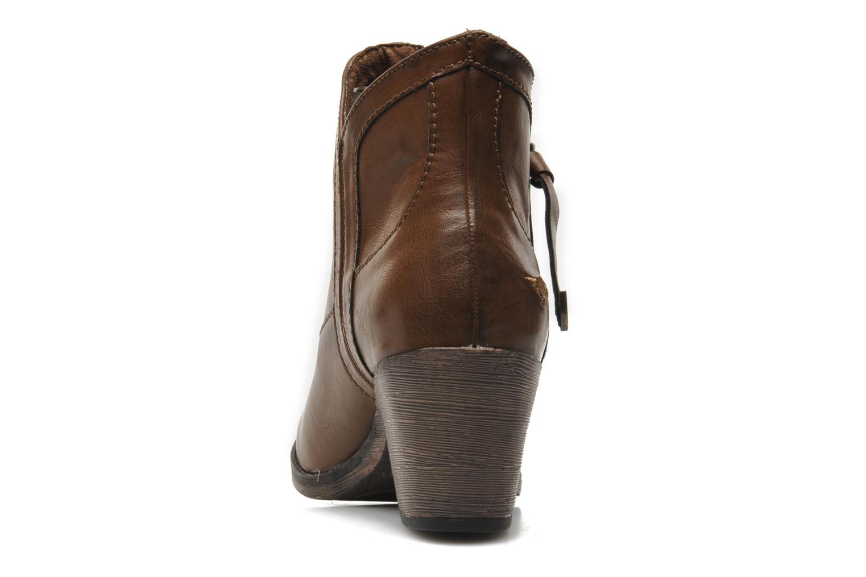 Bottines et boots Rocket Dog Sidney Marron vue droite