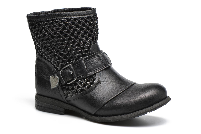 Bottines et boots Bunker Sara Sun Noir vue détail/paire