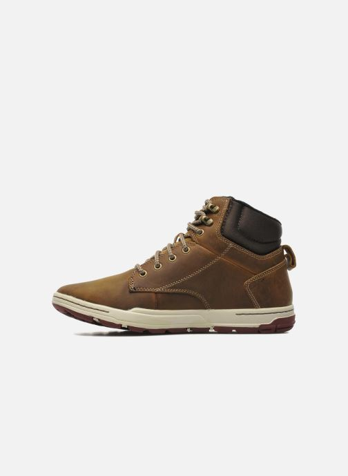 Sneakers Caterpillar Colfax Mid Brun se forfra