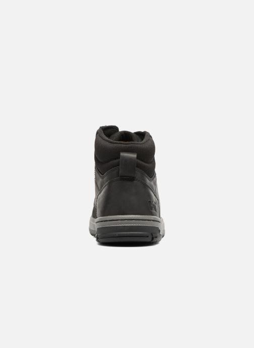 Sneaker Caterpillar Colfax Mid schwarz ansicht von rechts