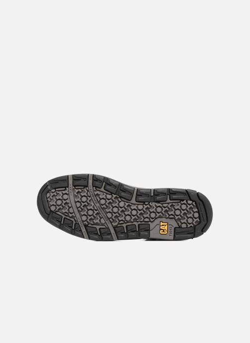 Sneaker Caterpillar Colfax Mid schwarz ansicht von oben