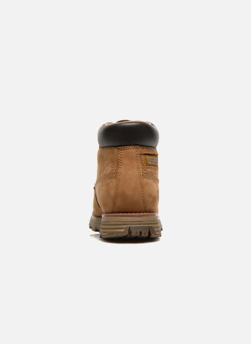 Boots en enkellaarsjes Caterpillar Founder Founder Bruin rechts