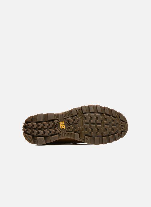 Stiefeletten & Boots Caterpillar Founder Founder braun ansicht von oben