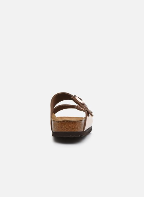 Mules & clogs Birkenstock Arizona Cuir W Bronze and Gold view from the right