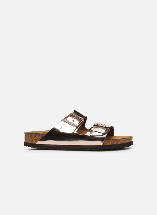 Mules & clogs Birkenstock Arizona Cuir W Bronze and Gold back view