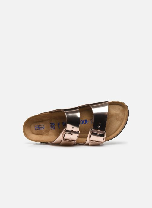 Mules & clogs Birkenstock Arizona Cuir W Bronze and Gold view from the left
