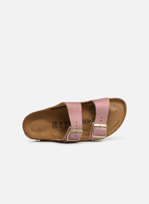 Clogs & Pantoletten Birkenstock Arizona Cuir W rosa ansicht von links