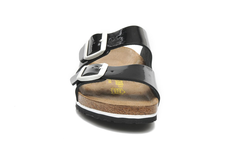 Mules et sabots Birkenstock Arizona Cuir W Noir vue portées chaussures