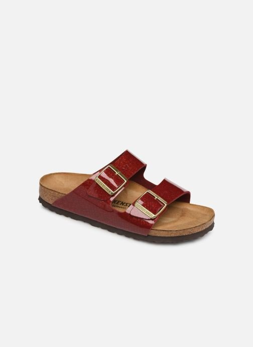 Wedges Birkenstock Arizona Flor W Rood detail