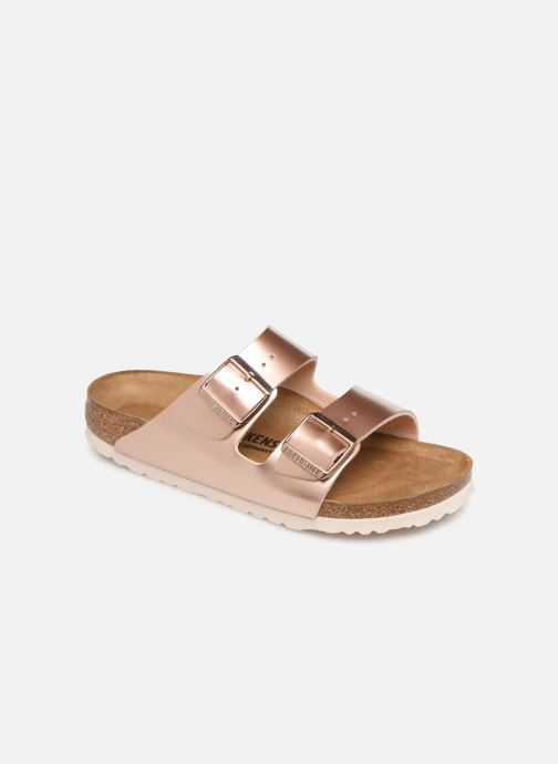 Wedges Birkenstock Arizona Flor W Roze detail