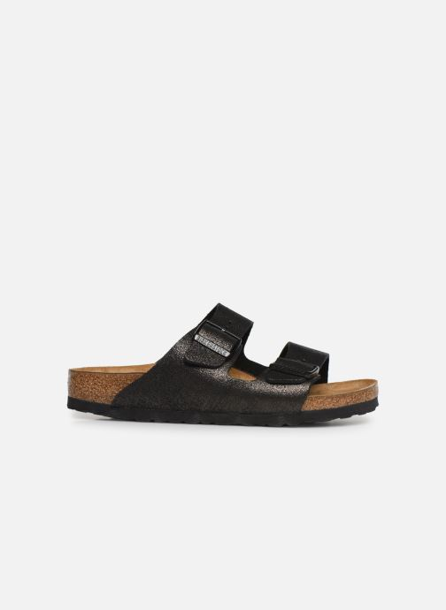 Clogs og træsko Birkenstock Arizona Flor W (Smal model) Sort se bagfra