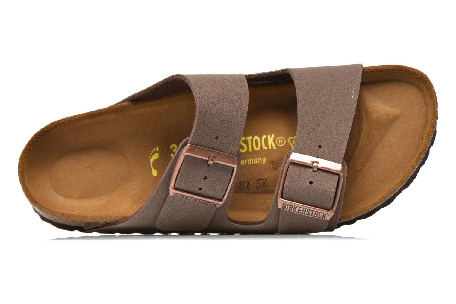 Mules & clogs Birkenstock Arizona Flor W Brown view from the left