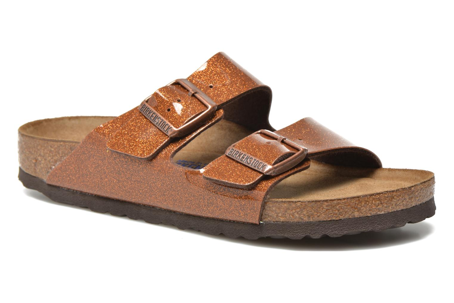 Wedges Birkenstock Arizona Flor W Bruin detail