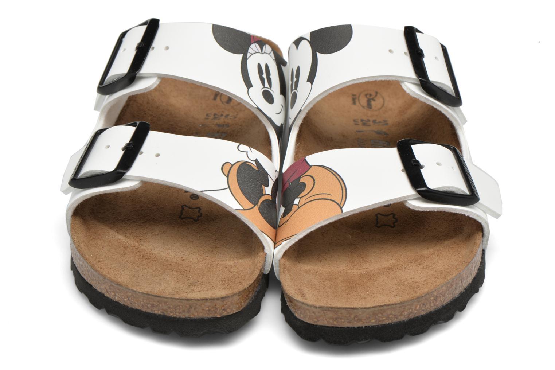 Clogs & Pantoletten Birkenstock Arizona Flor W weiß 3 von 4 ansichten