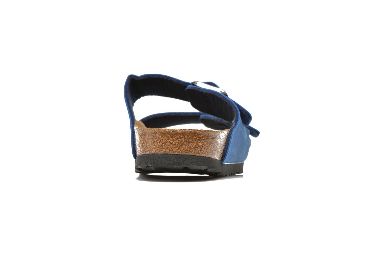 Mules et sabots Birkenstock Arizona Flor W Bleu vue droite