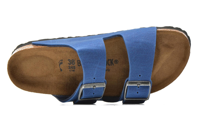Mules et sabots Birkenstock Arizona Flor W Bleu vue gauche