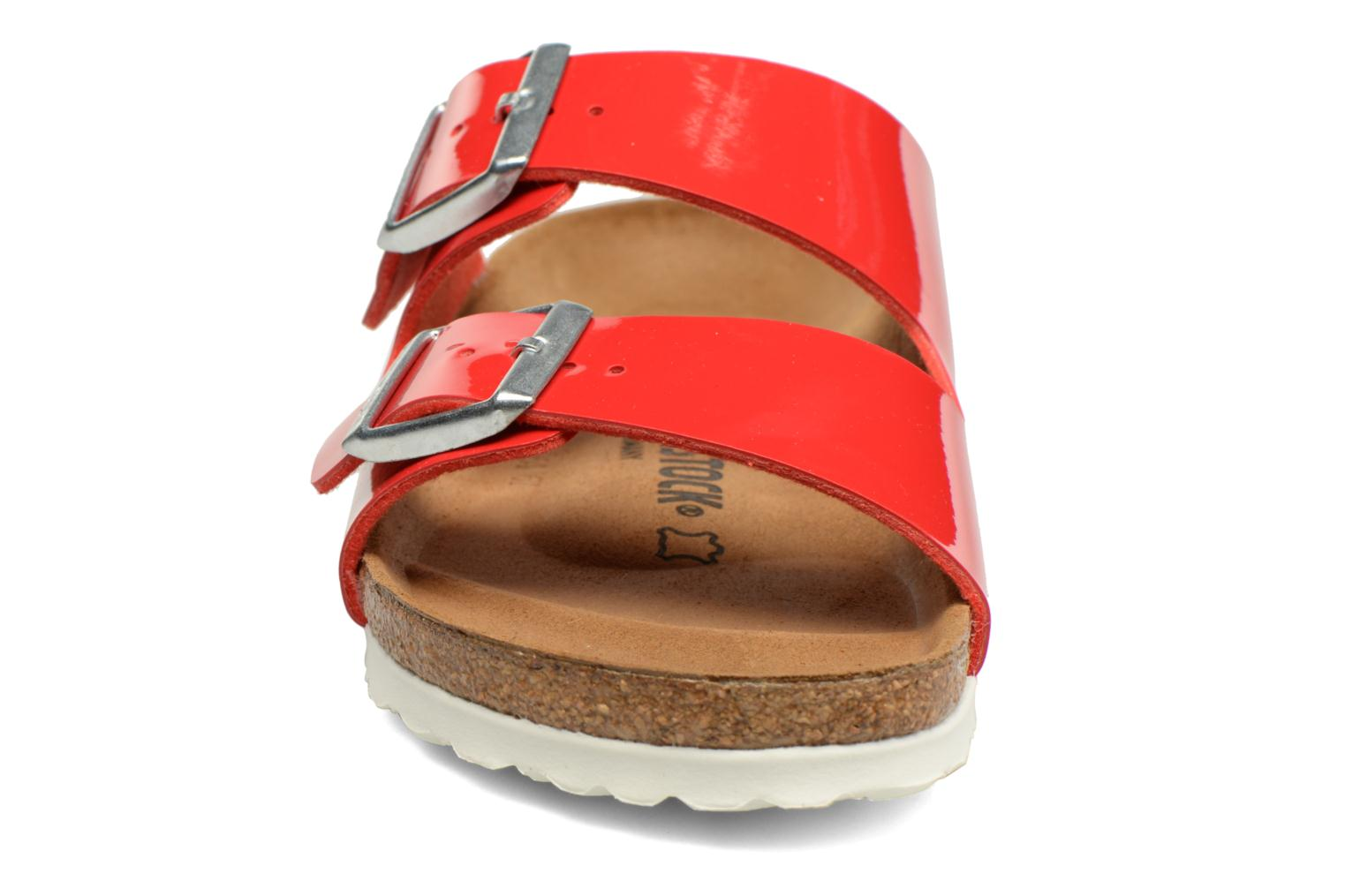 Mules & clogs Birkenstock Arizona Flor W Red model view