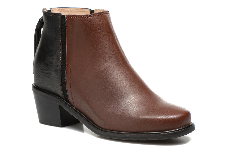 Bottines et boots Hush Puppies Stella Cordell Noir vue détail/paire
