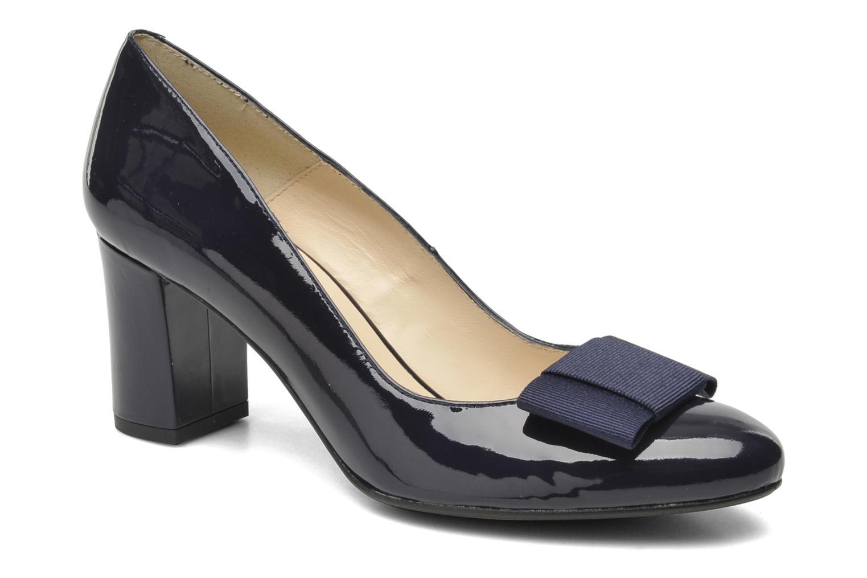High heels Georgia Rose Santoora Blue detailed view/ Pair view