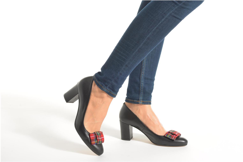 Zapatos de tacón Georgia Rose Santoora Rojo vista de abajo