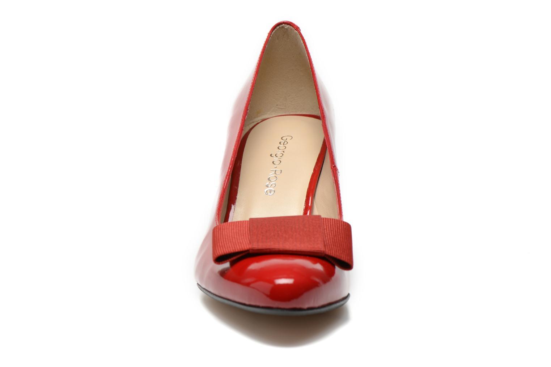 Zapatos de tacón Georgia Rose Santoora Rojo vista del modelo