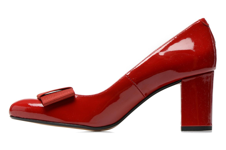 Zapatos de tacón Georgia Rose Santoora Rojo vista de frente