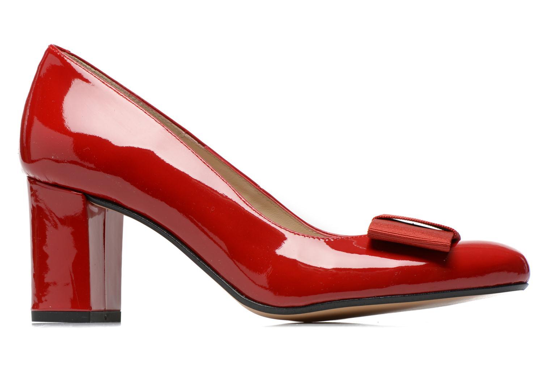 Zapatos de tacón Georgia Rose Santoora Rojo vistra trasera