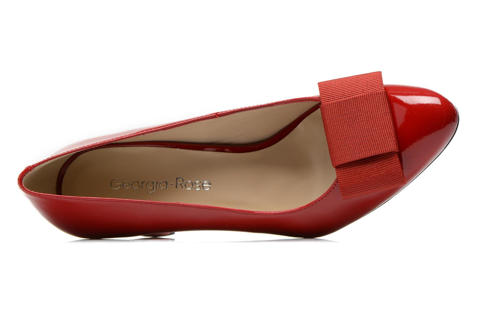 Pumps Georgia Rose Santoora rot ansicht von links