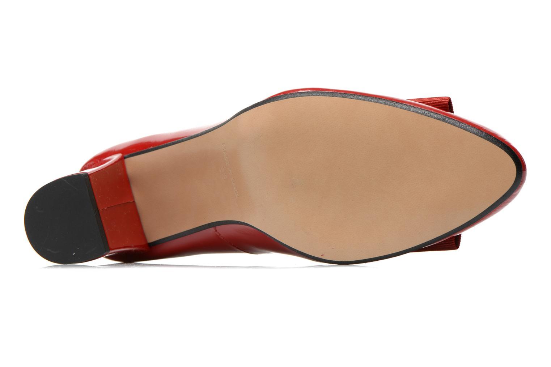 Zapatos de tacón Georgia Rose Santoora Rojo vista de arriba