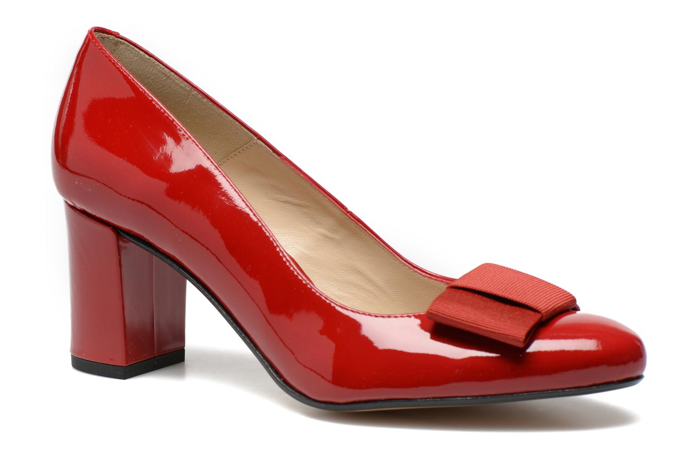 Zapatos de tacón Georgia Rose Santoora Rojo vista de detalle / par