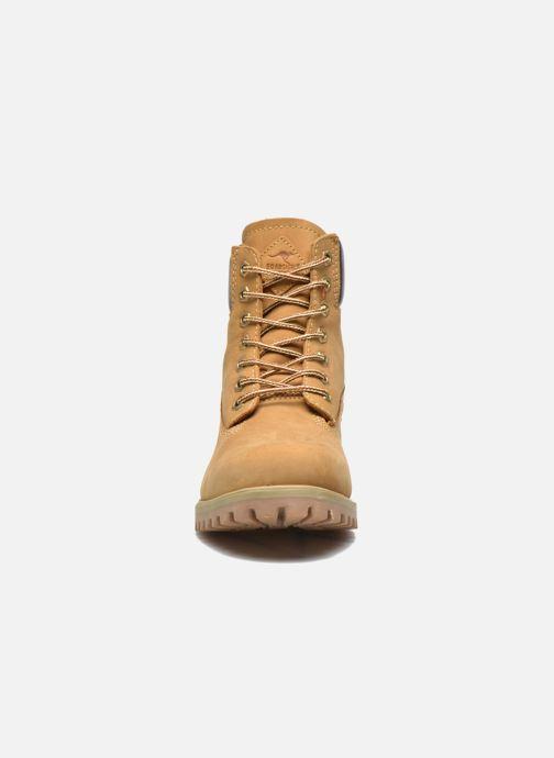 Bottines et boots Roadsign Road Beige vue portées chaussures
