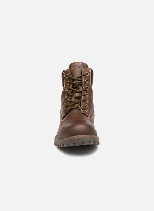 Bottines et boots Roadsign Road Marron vue portées chaussures
