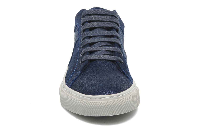 Baskets Bensimon Flexys F Bleu vue portées chaussures