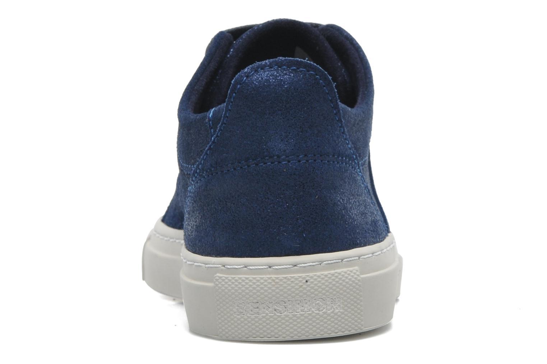 Baskets Bensimon Flexys F Bleu vue droite