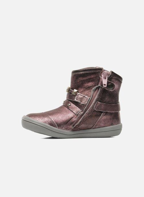 Bottines et boots Noël MINO OMA Rose vue face