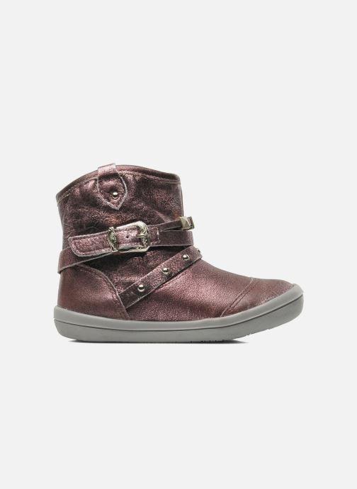 Bottines et boots Noël MINO OMA Rose vue derrière