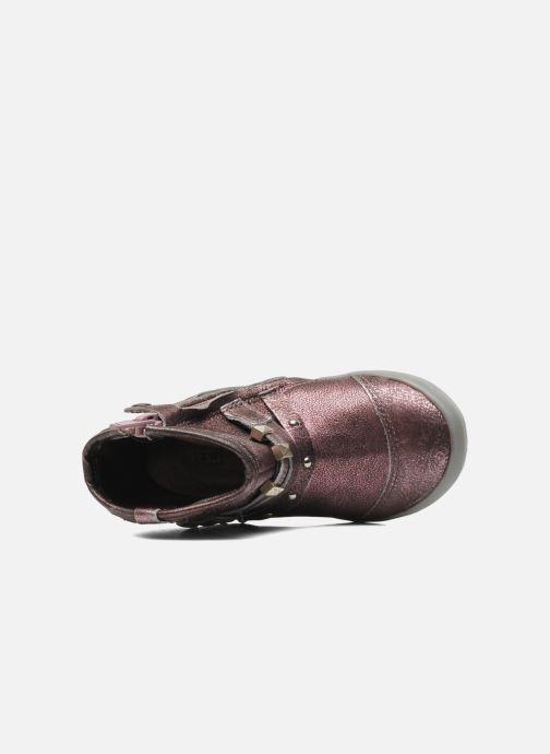 Bottines et boots Noël MINO OMA Rose vue gauche