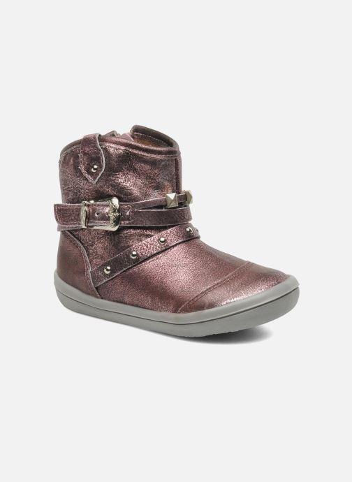 Bottines et boots Noël MINO OMA Rose vue détail/paire