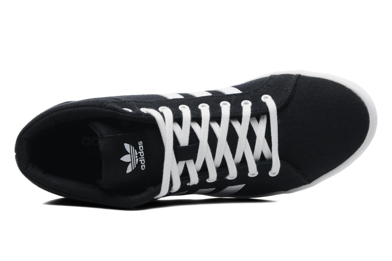 Trainers Adidas Originals Adria Ps 3S Mid W Black view from the left