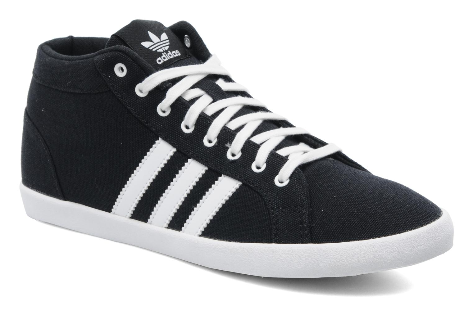 Trainers Adidas Originals Adria Ps 3S Mid W Black detailed view/ Pair view