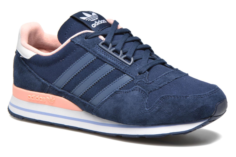competitive price ff6c0 15d7a ... where to buy baskets adidas originals zx 500 og w bleu vue détail paire  aff87 0af25