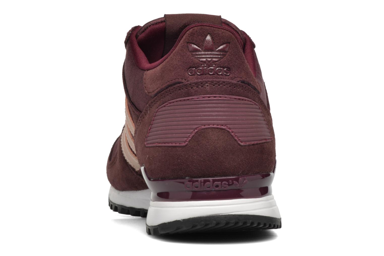 Baskets Adidas Originals Zx 700 W Bordeaux vue droite