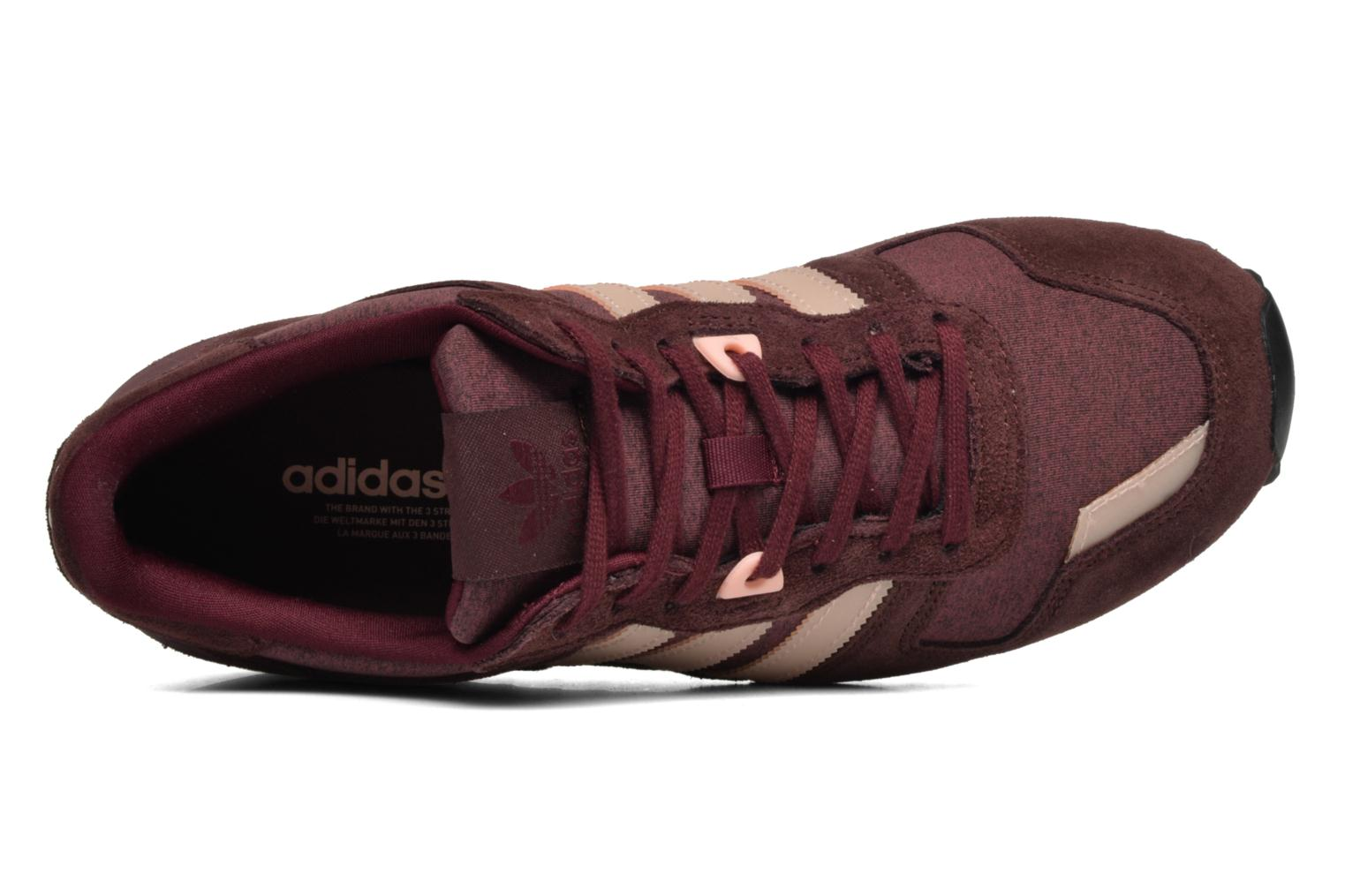 Trainers Adidas Originals Zx 700 W Burgundy view from the left